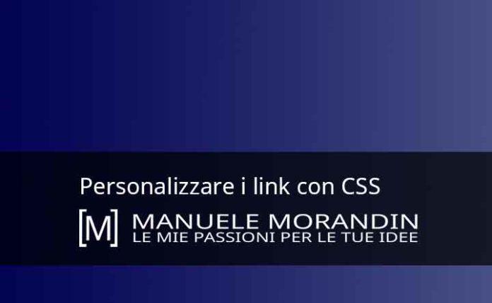 Personalizzare i link con CSS