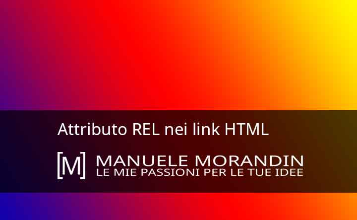 Attributo Rel nei link HTML