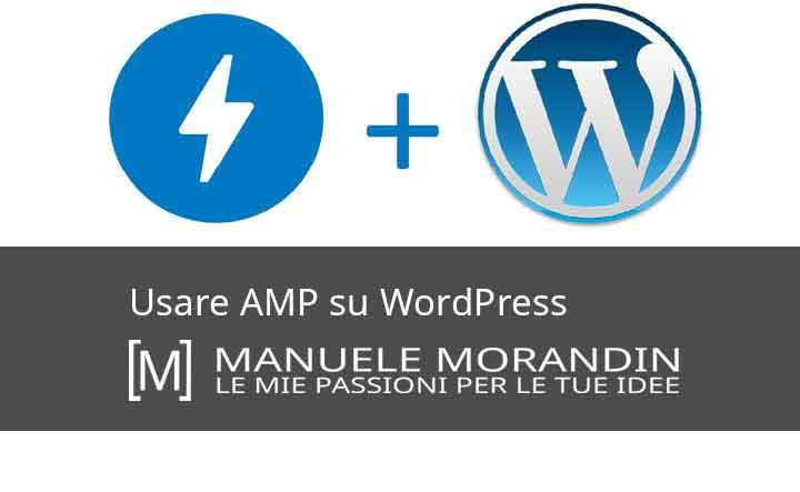 Usare AMP su WordPress