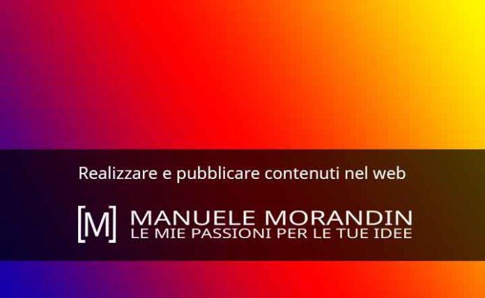 Realizzare e pubblicare contenuti nel web
