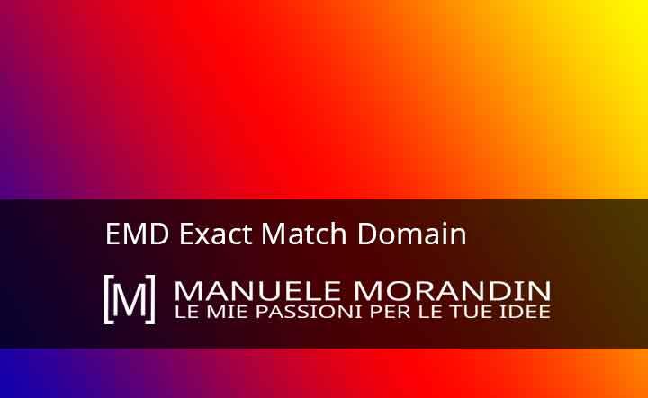 EMD Exact Match Domain