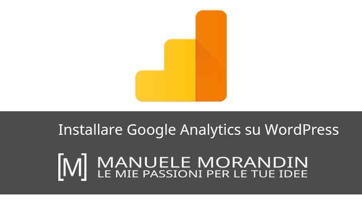 Installare Google Analytics su WordPress