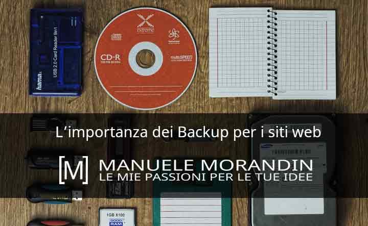 L'importanza dei backup per i siti web