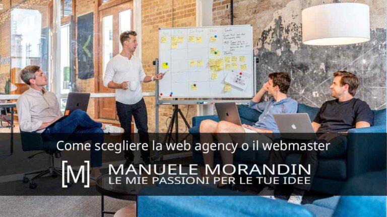 Come Scegliere la web agency o il webmaster